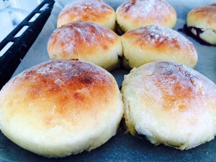 Baked Close-up Food Freshness Organic Ready-to-eat Sweetrolls Temptation