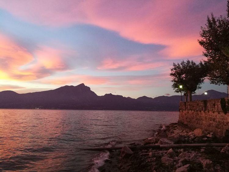 @lifeisgood Sunset Mountain Nature Sky