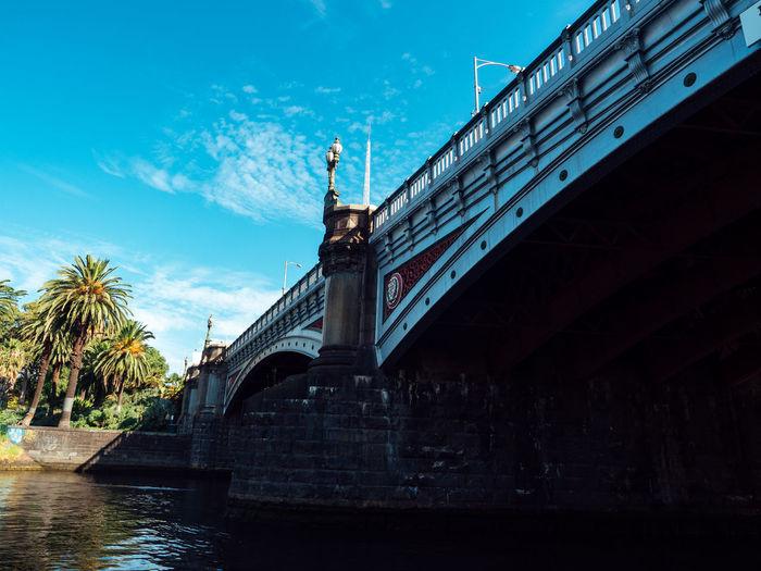 Architecture Australia Bridge Bridge - Man Made Structure City Melbourne River Riverside