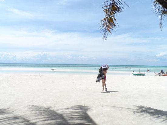 Summer in the rainy season. Beach Life Island Girl Eyeem Philippines Eyeem Cebu Travel People And Places Philippine Beaches Sea And Sky