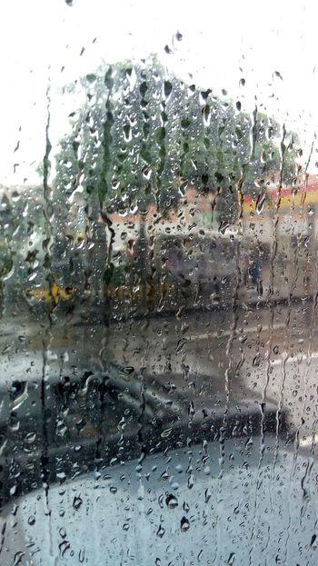 Monsoon rain Commute Scenery Manila, Philippines Wetseason