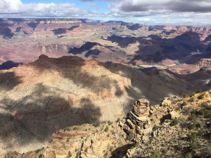 Grand Canyon Scenics - Nature Beauty In Nature Tranquility Tranquil Scene Cloud - Sky Nature Landscape Sunlight Day Sky Idyllic Travel Destinations No People