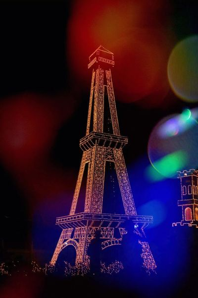 Eiffel Tower ♥♥ Christmas Aroundtheworld Bicol, Philippines@Malinao