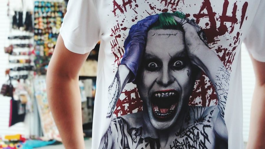 Adults Only One Person Looking At Camera Portrait Adult Evil People Horror Close-up Young Adult Indoors  Human Body Part Day Only Men One Man Only Jared Leto Joker SuicideSquad