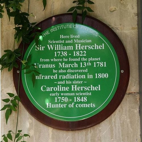 The Herschel's. Exploring the cosmos like bosses. If you've not heard of them, look them up. Both William and Caroline were masterful musicians, incredible astronomers, and may well be the best brother-sister combo ever. And visit the Herschel Museum if you're in Bath. Its where Uranus was discovered. And its fab. Herschelmuseum Astronomy Uranus