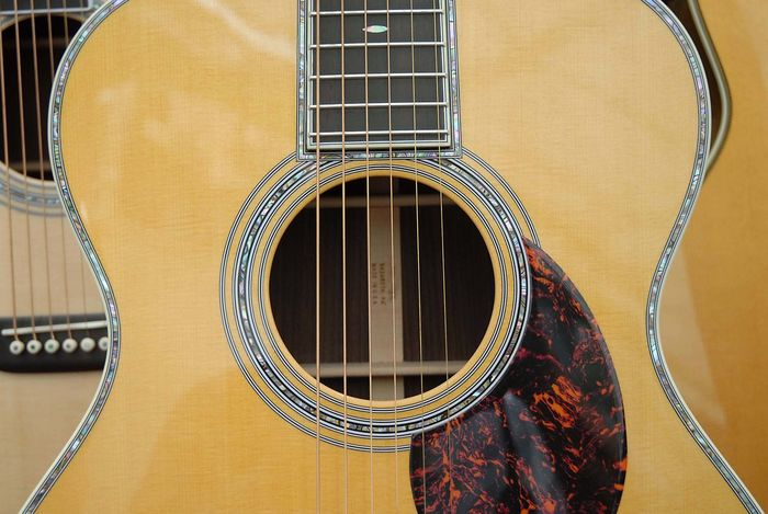 Guitar Acoustic Colours Guitar Hole Instrument Music Musical String Wood