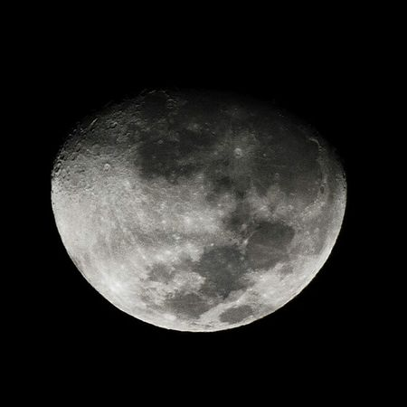 Silvery Moon Moon Silvery Universe Sidereal Outer Space