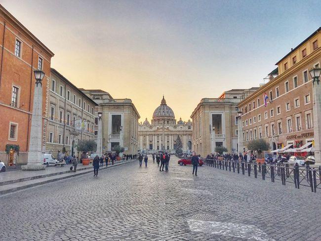 Architecture Saintpeter Vatican VaticanCity Church Evening Evening Sky