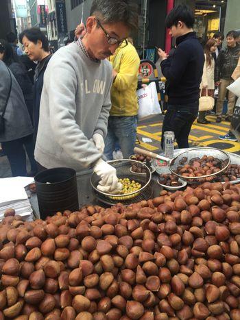 street vendor in korea Asian  Street Vendor VENDOR LADY Food And Drink For Sale Market Nut Outdoors The Week On EyeEm