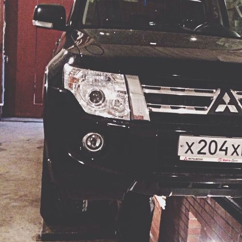 Preparing for the winter Mitsubishi Pajero Mitsubishi Car Big Man Addiction I Like Preparing For Winter