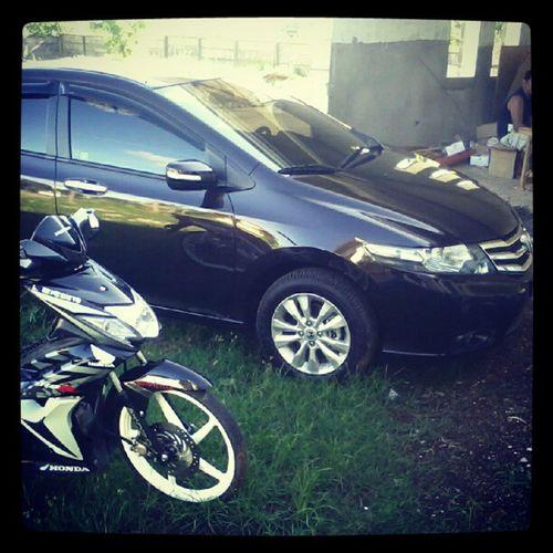 i love Honda :) Hondawavedash Hondacity