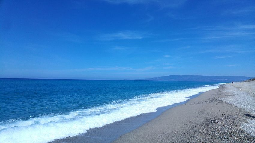 Sea Beach Horizon Over Water Sand Wave Water Blue Nature Scenics Beauty In Nature Outdoors No People Sky Day Clear Sky Quiet Moment Beauty In Nature Silence Of Nature Italy🇮🇹 Springtime Clear Sky Nature Tranquility Tranquil Scene Outdoors Sea And Sky