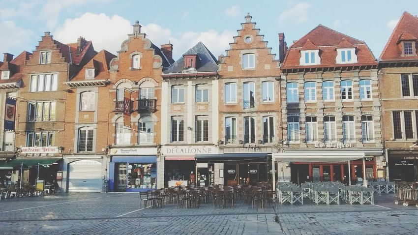 Tournai Architecture Built Structure Building Exterior City Street Residential Building Old Town City Life