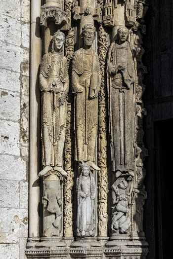 Architecture Art And Craft Chartres Chartres Cathedral Crafted Beauty France Gothic Gothic Architecture Spirituality Carving Gothic Church Gothic Style History Human Representation Religion Scupture The Past
