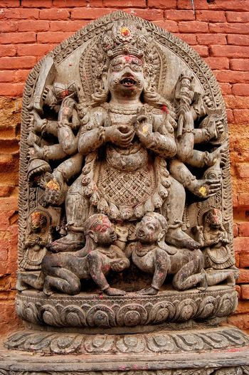 Bakhtapur Sculpture No People Religion Close-up Outdoors Place Of Worship Bas Relief Statue Day Popular Popular Photos Popular Photo Spirituality