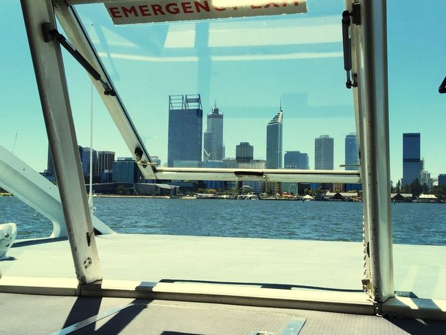 Ferry Views: Perth, Western Australia Transportation River Australia Boating City Life Perth Swan River My Commute City View  Ferry Window View Architecture Transperth Ferry Boat Ferry Views Ferry Cityscapes Western Australia Buildings City Boat Transport Windows Urban Connecting