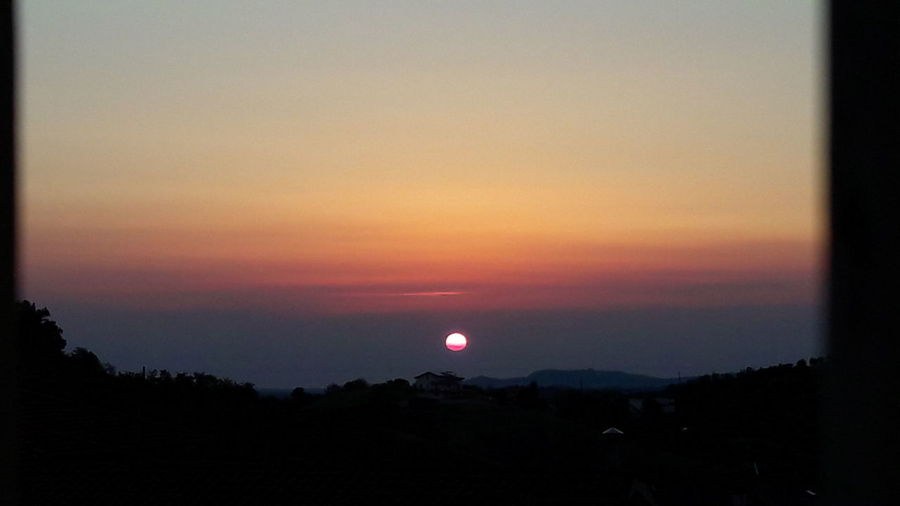 Sunset Sky No People Nature Tranquility Scenics First Eyeem Photo Italy Sunset Sun Penne Italy Abruzzo Alba