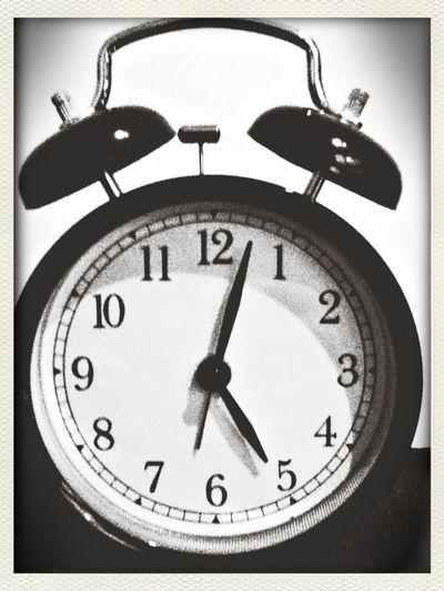 l'heure du reveil.