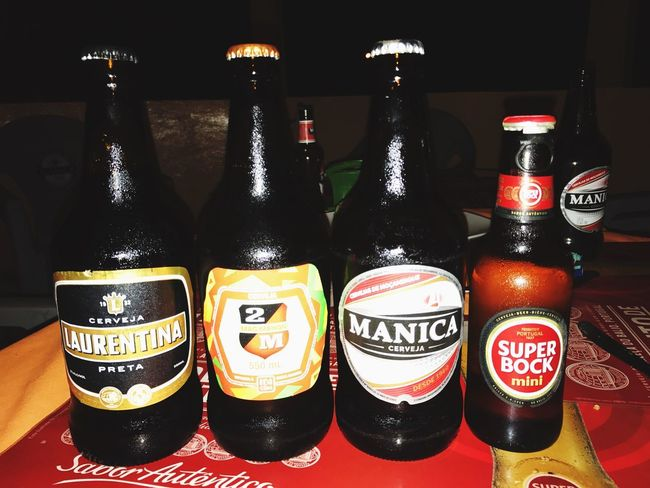 Taking a tour of a beautiful country. Bottle No People Drink Beer 2m Manica Cerveja Super Bock Laurentina Preta Freshness Lovelife