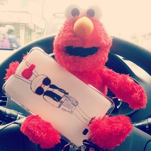Fifi is arrive. Elmo ♥ fifi. Fifilapin