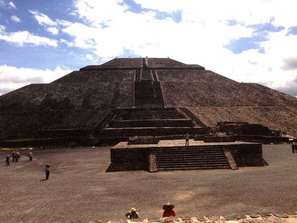Piramide Del Sol Esto Es Mexico First Eyeem Photo