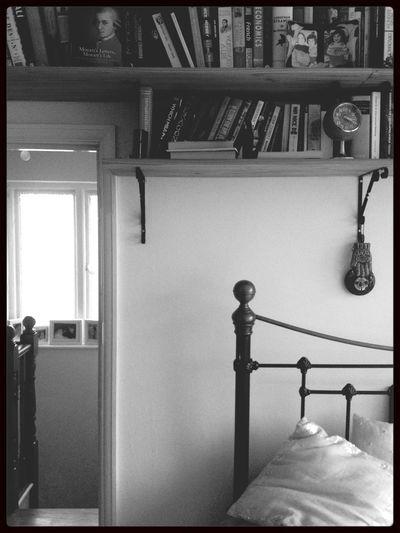 My Old Bedroom Interior Monochrome Blackandwhite