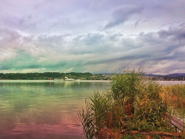 Steamboat on the lake Mexturesapp Landscape_Collection Landscape_photography Water_collection The Great Outdoors - 2015 EyeEm Awards Streamzoofamily EyeEmSwiss Visitrapperswil Switzerland Steam