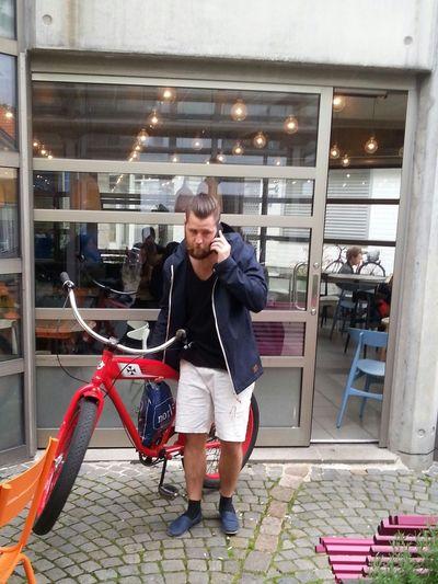The nazi bike and its owner