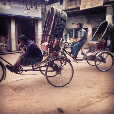 wait.. until sleep! Daily Life Rickshaw Chaktai Chittagong Chottogram Instagram
