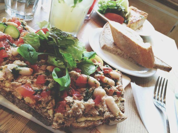 Lunch Cafe Fresh Bread