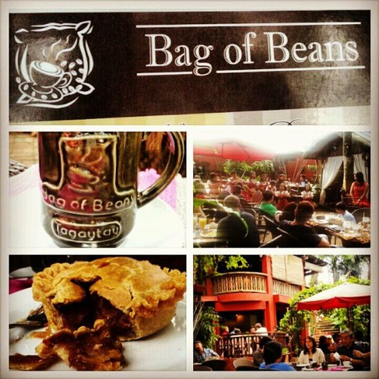 First time here at Bag of Beans. Now I understand why a lot of people go here. Goodcoffee Bagofbeans Tagaytay Roadtrip