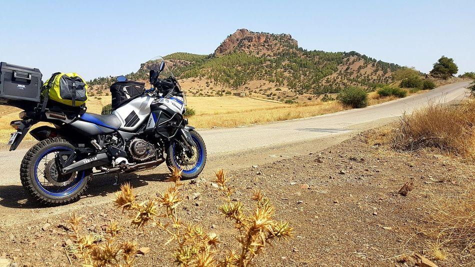 Motorcycle Adventure Only Men Mountain Range Beauty In Nature Supertenere Yamaha Xt1200ze Motorcycle Photography Landscape Scenics