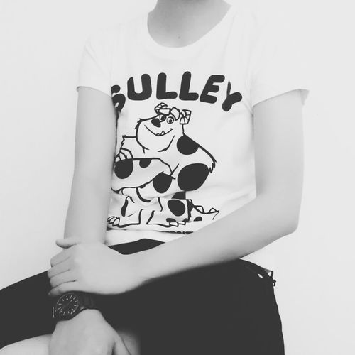 Black & White. // using @steph filter Monster Inc University