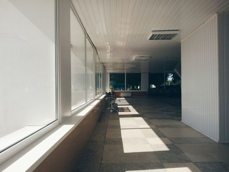 Indoors  Daylight Sunlight And Shadow Sunlight, Shades And Shadows Sunlight Through The Window Sunlight Through Windows No People No People, Indoors Afternoon Empty Space The Secret Spaces