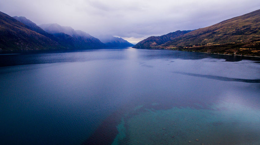 061 Lake Hawea lake wakatipo blue crytsal clear panorama blue Wanderlust Aboutpassion Aerial Photography Beauty In Nature Cloud - Sky Day Idyllic Lake Mountain Mountain Range Nature No People Non-urban Scene Outdoors Reflection Scenics - Nature Sky Tranquil Scene Tranquility Vanlife Water Waterfront