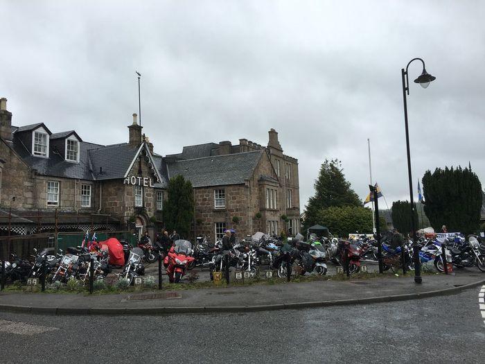 Bikes British Legion Motorcycles Scotland Colour