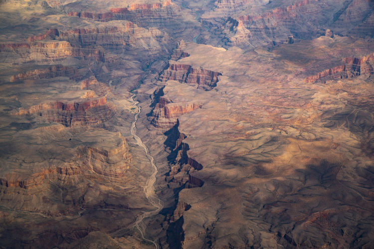 Rock Environment Scenics - Nature Landscape Non-urban Scene Nature No People Beauty In Nature Tranquil Scene Geology Day Outdoors Formation Arid Climate Grand Canyon Aerial Photography Aerial Landscape Southwestern Usa Southwest  Canyon Shadows & Lights