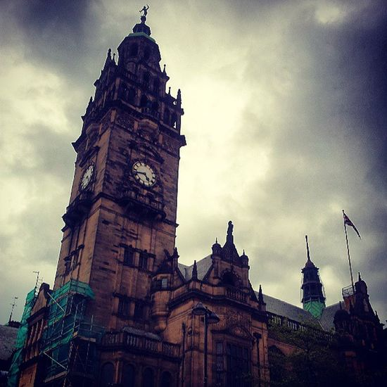 Sheffieldtownhall Clocktower Clocktowers Gothic