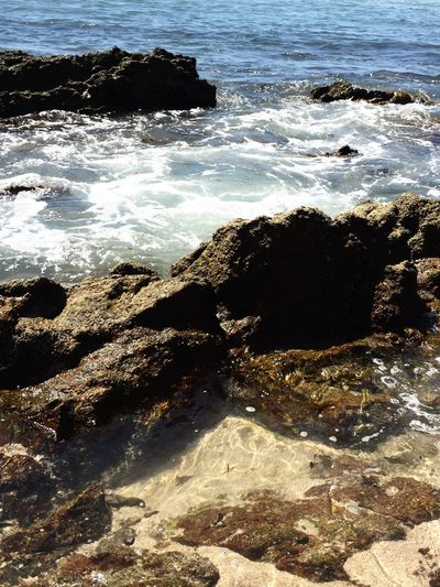 Mazatlán,México. Water Rock - Object Beach Day Horizon Over Water