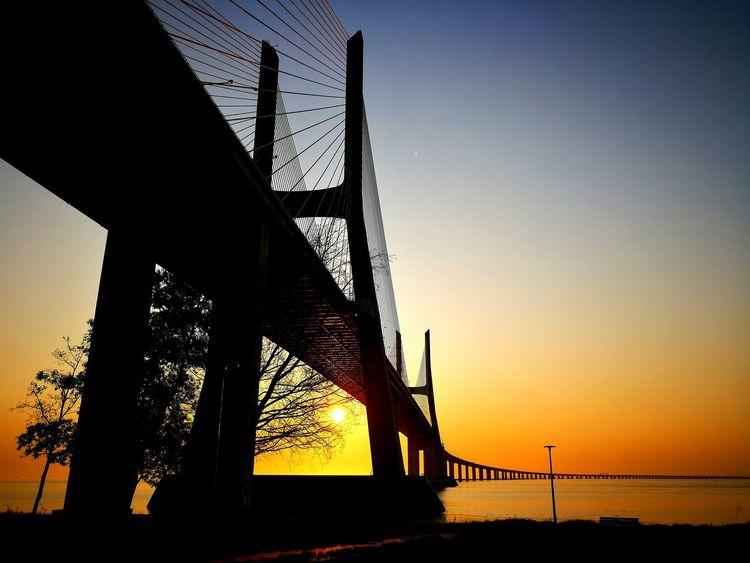 Ponte Vasco Da Gama Sunrise