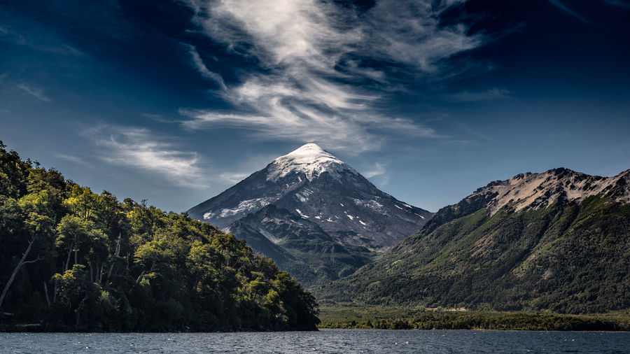 Mountain Sky Beauty In Nature Water Cloud - Sky Tranquil Scene Scenics - Nature Tranquility Mountain Range Non-urban Scene Lake Environment Nature No People Idyllic Waterfront Landscape Plant Outdoors Mountain Peak Snowcapped Mountain Formation Range Volcano My Best Photo
