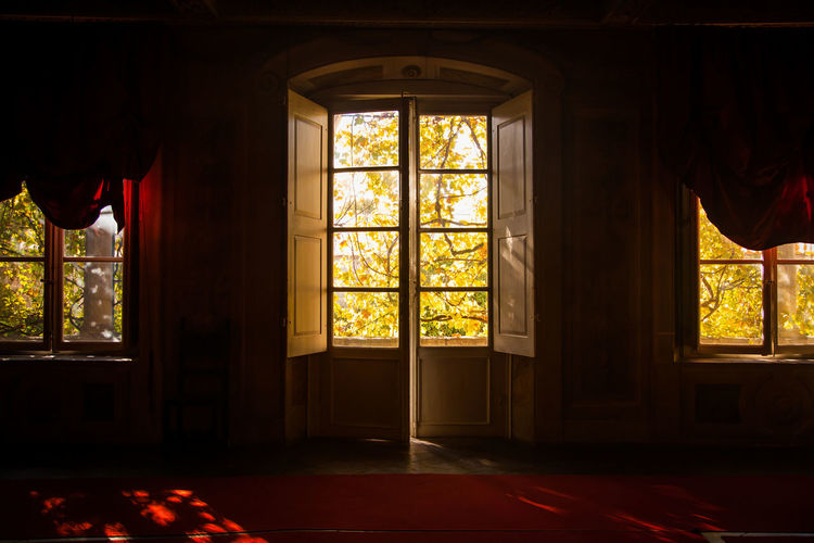 Afternoon Interiors Lucca Palazzo Tranquility Architecture Boudoir Curtain Curtains Day Indoors  Italy Open Red Transparent Wild Wine Window Windows Wine Autumn Mood It's About The Journey