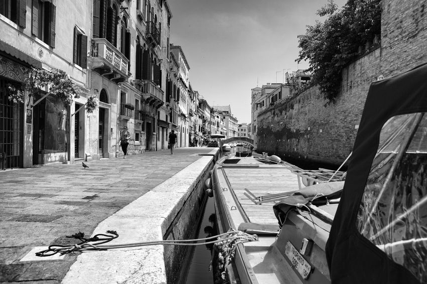 Architecture Blackandwhite Building Exterior Built Structure City Day Outdoors Sunny Venice Venice, Italy
