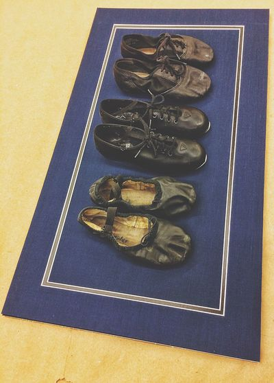 Taking moment between projects... Shoes Kids Shoes Dance Shoes Tap Shoes Ballet Shoes Leather Footwear Blue Black Mat Shadowbox Shadowboxing At Work Project Milford Milford CT Connecticut New England  Three