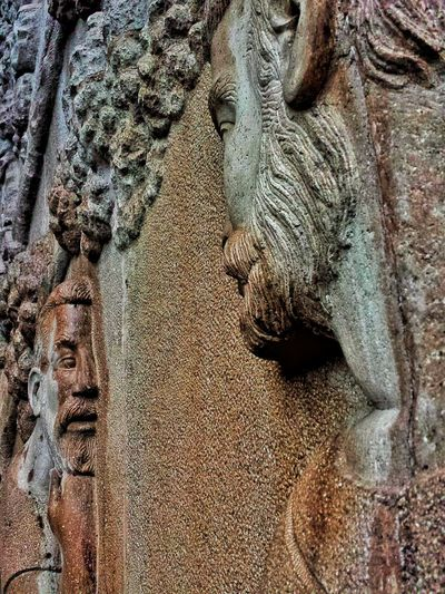 Miradas fijas. Beard Face Sculpture Greece Greece Art Old Sculpture Rusty Sculpture Sculptures