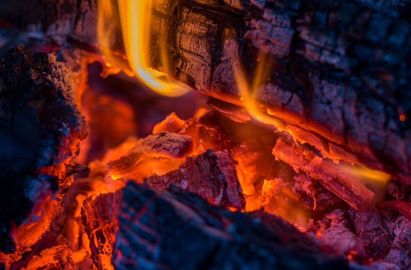 Fire glow Burning Fire Fire - Natural Phenomenon Heat - Temperature Flame Log No People Wood - Material Glowing Close-up Firewood Orange Color Bonfire Nature Wood Full Frame Burnt Backgrounds Motion Ash Campfire Capture Tomorrow