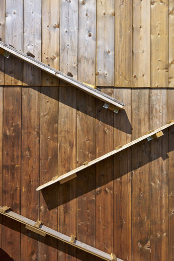 Architecture Backgrounds Brown Building Exterior Built Structure Day Full Frame Hut In A Row Metal Nature No People Old Outdoors Pattern Sunlight Wall - Building Feature Wood Wood - Material