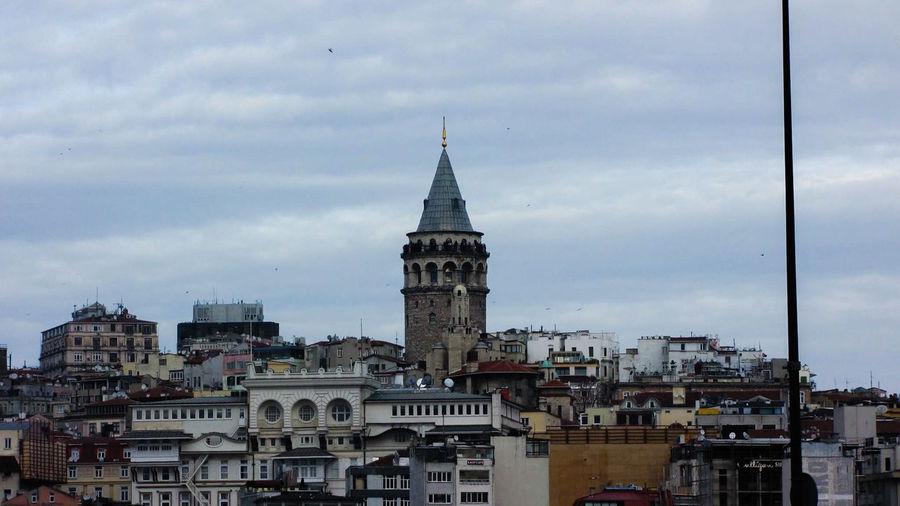 Galatakulesi ıstanbul Manzara Eminönü Amazing Tarih