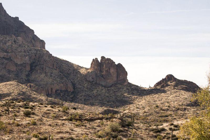 Desert Landscape Desrt Scenes Rocks Sky