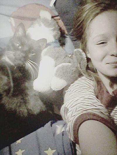 Ilovehim❤ Smiling ^_^ Cat Lovers